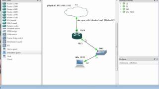 Connect GNS3 to LAN and Internet (Updated).avi