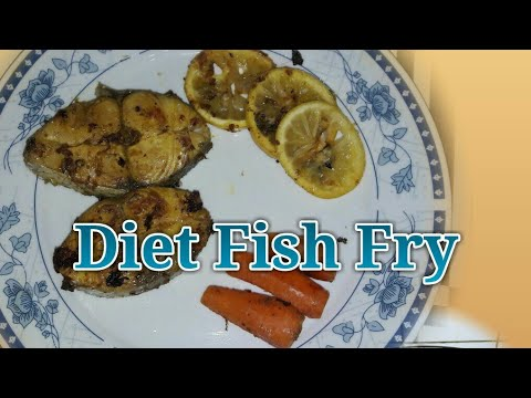 Diet Fish Fry Recipe-Low Calorie Fish Fry-Easy/Quick Fried Fish