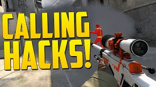 I CALL HACKS! - CS GO Funny Moments in Competitive