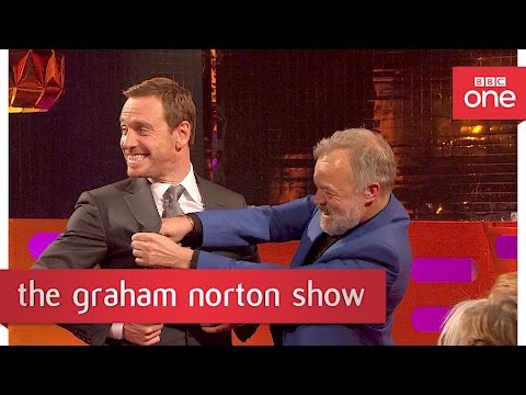Michael Fassbender's breakdancing moves  The Graham Norton  2017: P  BBC One