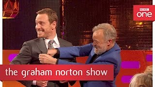Michael Fassbender's breakdancing moves - The Graham Norton Show 2017: Preview - BBC One