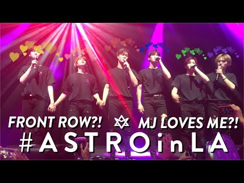 180204 ASTRO FANMEETING in LA!! WHEN KPOP ATTACC!! ♡