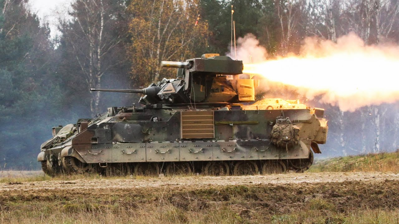 Vehicles War Vehicles Action Hd Military Images Fire: M2 BRADLEY FIGHTING VEHICLE IN ACTION • TOW MISSILES