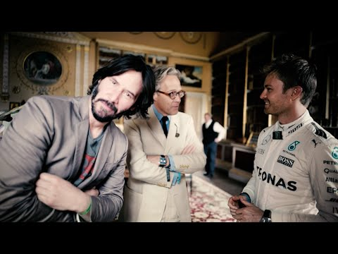 Nico Rosberg: DONUT IN THE BACKYARD   Goodwood FoS 2016