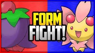 Cherrim: Overcast Form vs Sunshine Form | Pokémon Form Fight