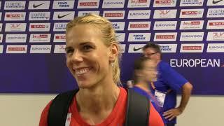 Nikola Ogrodníková po kvalifikaci oštěpu na ME 2018