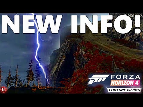 Forza Horizon 4: EVERYTHING WE KNOW ABOUT FORTUNE ISLAND (New Info!!)