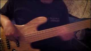"""Playing Erykah Badu's Live """"Boogie Nights/All nights"""" (Bass Cover)"""