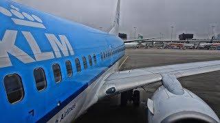 KLM | AMSTERDAM-ZURICH | ECONOMY CLASS | BOEING 737-700