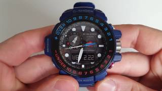 Параметри Casio G-Shock GWN-1000H-2A (Review)