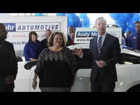 2014 Ford Mustang Giveaway | Providence Cristo Rey High School | Andy Mohr Ford