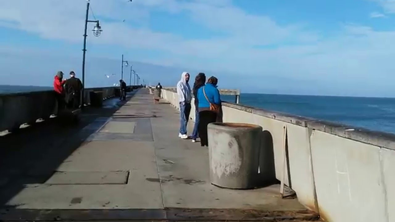 Crabzilla pacifica pier report pier open today on a high for Pacifica pier fishing report