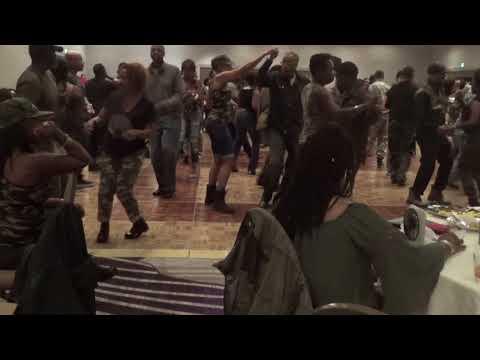 CHOC & Amber (CUTIE) Sue steppin at Harlem Nights 2017