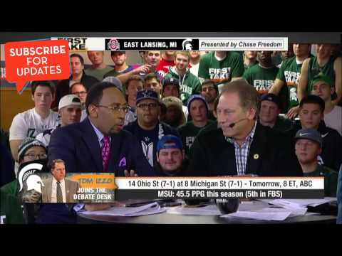 First Take - Tom Izzo Joins The Debate Desk