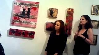 Simone Gad Performance 21st Century Sex Show Bleicher Gallery LA August 4 2012