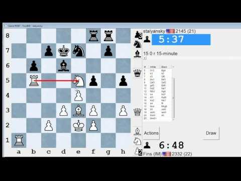 Standard Chess #87: IM Bartholomew vs. stalyansky (Ruy Lopez)