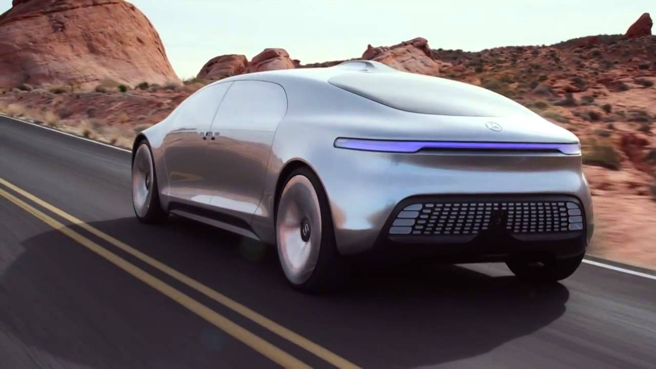 Mercedes F015 Self Driving Electric Car