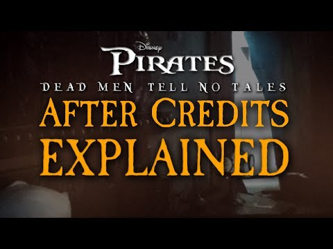Pirates of the Caribbean Dead Men Tell No Tales AFTER CREDITS - EXPLAINED