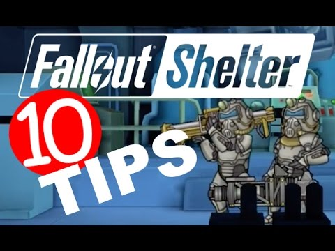 FALLOUT SHELTER | 10 Tips & Tricks For Vault, Caps, Dwellers