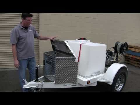 Mobile Auto Detailing Trailer: Compact Pro 5800 Deluxe with Steve Drennon