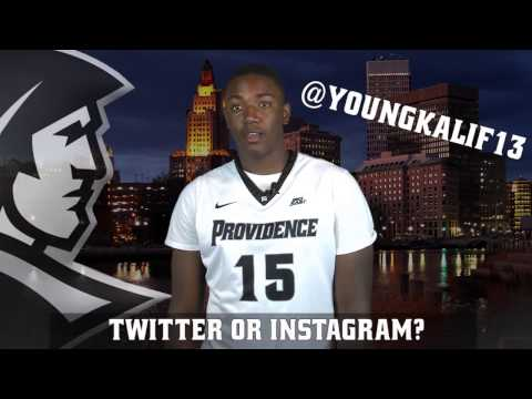 Get To Know Your Freshman - Kalif Young