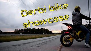 SBR - Derbi Senda 73cc showcase
