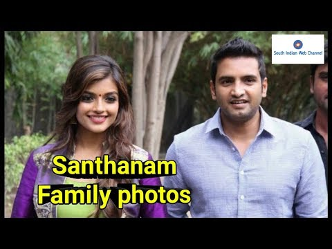 Santhanam Family Photos / Actor Santhanam Family Photos With Friends