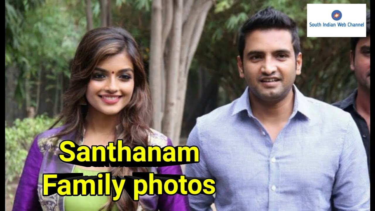 Santhanam Family Photos Actor With Friends