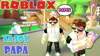 ADOPTA CHILD - I AM ALREADY PAPA :O // ROBLOX ROLEPLAY