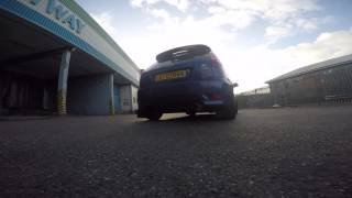 homepage tile video photo for Fiesta ST MR200 - Revving - Exhaust note