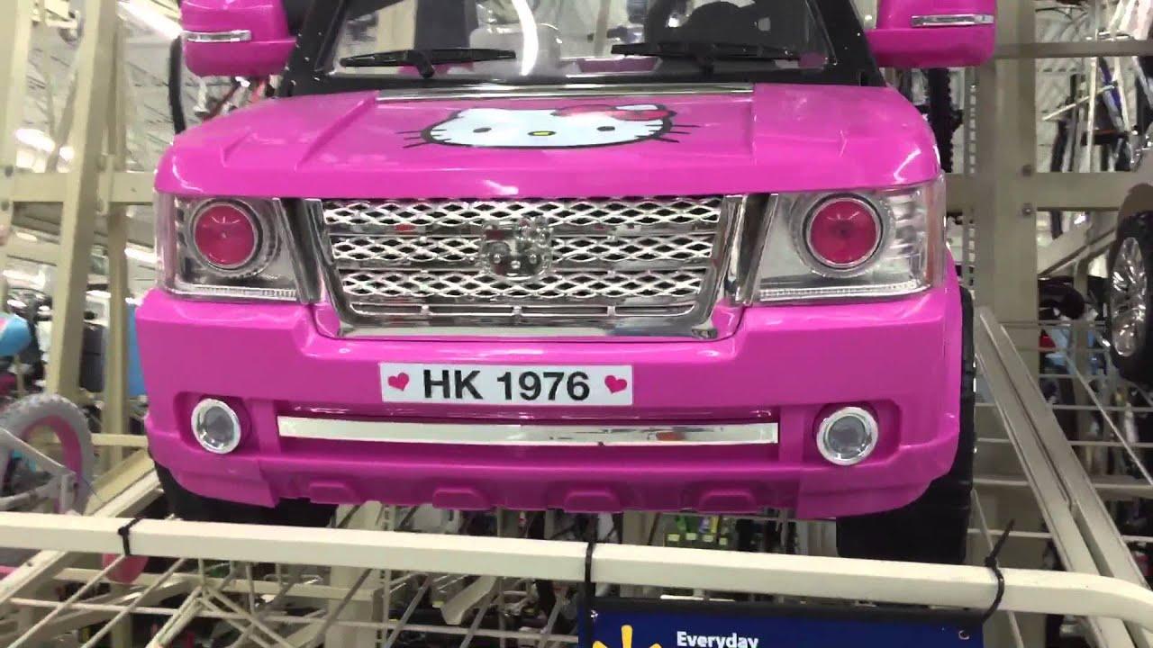 Jeep Carrinho Elétrico Da Hello Kitty No Advinha Quanto