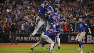 THE CALL! Cubs World Series 10th inning (670 Cubs Radio)