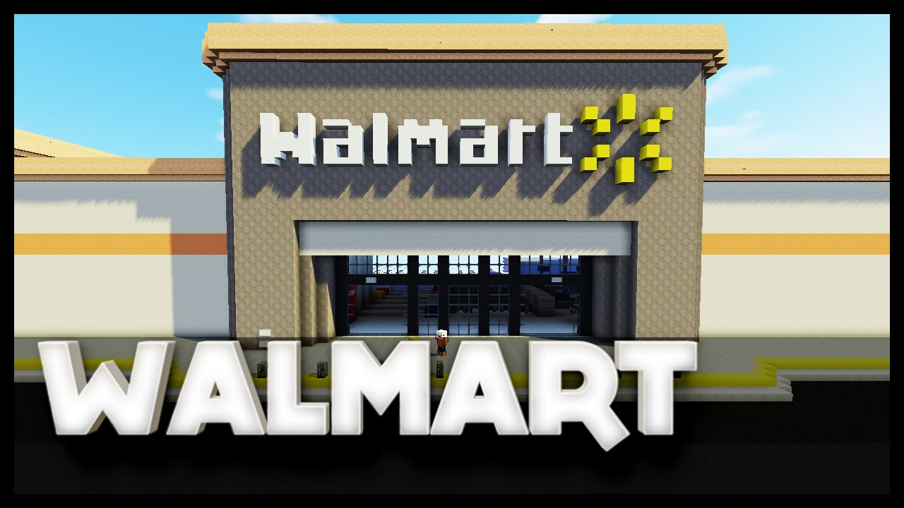Minecraft - Walmart - YouTube