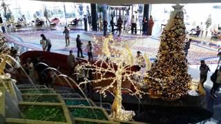 Burj Al Arab Dubai Christmas & New Year Decoration 29.12.2015