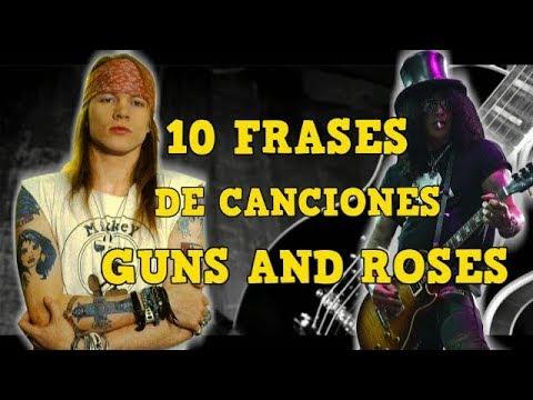 10 Frases De Canciones Guns And Roses