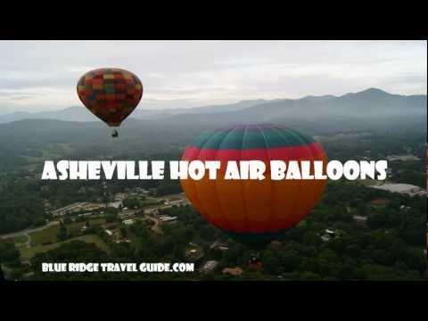Asheville Hot Air Balloon Ride by Blue Ridge Travel Guide