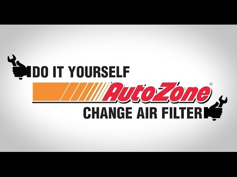 How To Change Your Air Filter – AutoZone How To Videos