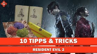Zehn Tipps & Tricks zu Resident Evil 2 | Top 10