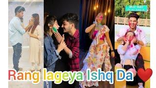 Rang lageya Ishq Da ||Rang Lageya Ishq Da❤️❤️reels ||Rang Lageya reels compilation|| Holi special ❤️