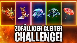 ZUFÄLLIGER GLEITER CHALLENGE! 🏆 | Fortnite: Battle Royale