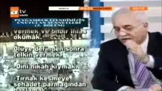 Nihat Hatipoğlu ndan Adnan Oktara Cevap