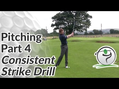 Consistent Strike on Pitch Shots – Pitching Drill