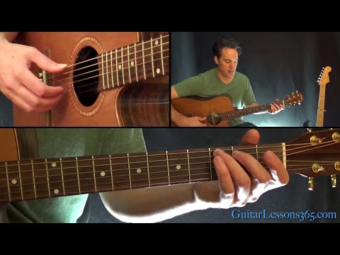 Redemption Song Guitar Lesson - Bob Marley & the Wailers