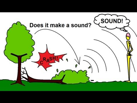 Physics - Mechanics: Sound and Sound Waves (2 of 53) If a Tree Falls in the Forest...?