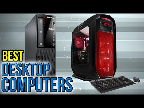 10 Best Desktop Computers 2017