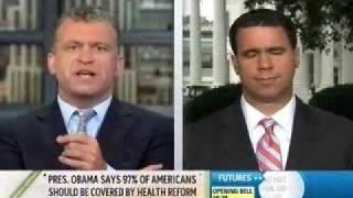 7-23-09: MSNBC:  WH Deputy Press Secretary Bill Burton on Health Care, GOP