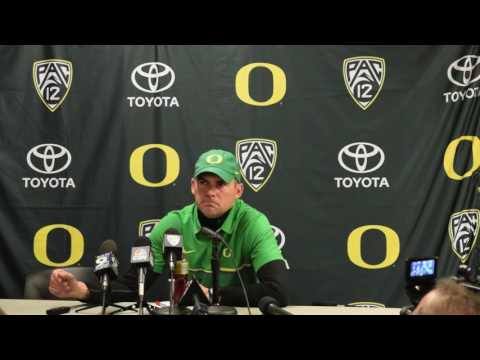 Mark Helfrich after Utah