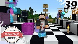 Elytra Race! - MINECRAFT (VintageCraft Server) - EP39 (Minecraft Video)