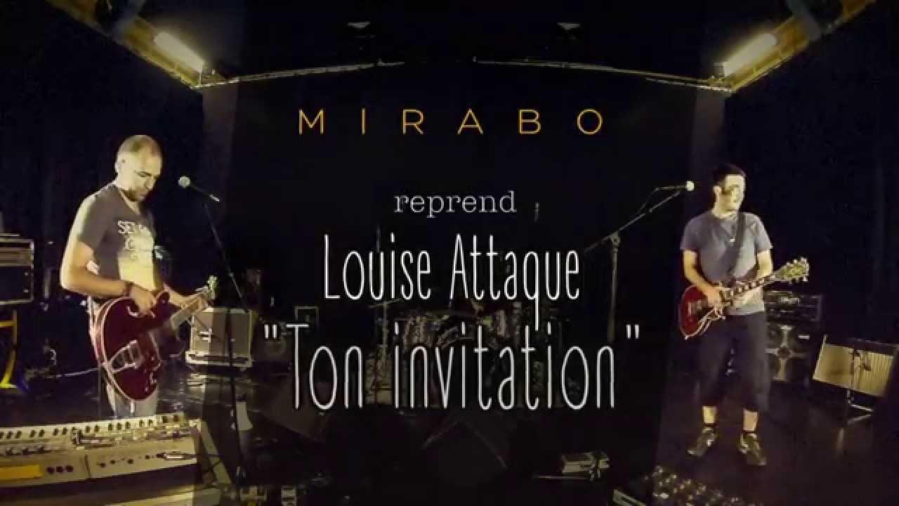 Ton invitation louise attaque cover par mirabo youtube ton invitation louise attaque cover par mirabo stopboris Gallery