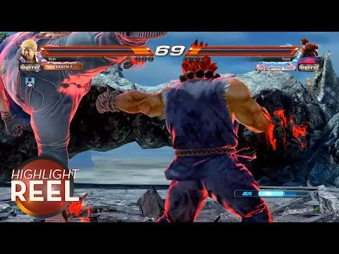 Highlight Reel #308 - Akuma Takes Cheap Shot, Gets What He Deserves